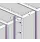 VITAVIA Gewächshaus »Helena«, B x L x H: 265,9  x 460,1  x 238,8  cm, aluminium|glas-Thumbnail