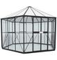 VITAVIA Gewächshaus »Juno«, 9 m², Kunststoff/Aluminium/ESG Glas, winterfest-Thumbnail