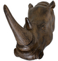Geweih, Nashorn, Höhe: 25  cm, Polyresin, braun-Thumbnail