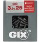 SPAX Gipsfaserschraube, 3,9 mm, Stahl, 200 Stk., GIX C 3,9x25 L-Thumbnail