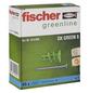 FISCHER Gipskartondübel, GK GREEN, Nylon, 45 Stück-Thumbnail