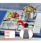 WENKO Glasabdeckplatte »Hot Peperoni«, BxHxT: 3 x 1,8 x 52 cm, Glas/Thermoplaste, mehrfarbig-Thumbnail