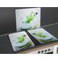 WENKO Glasabdeckplatte »Kräutergarten«, BxHxT: 3 x 1,8 x 52 cm, Glas/Thermoplaste, mehrfarbig-Thumbnail