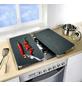 WENKO Glasabdeckplatte »Universal Cayenne«, BxHxT: 3 x 1,8 x 52 cm, Glas/Thermoplaste, mehrfarbig-Thumbnail