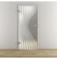 NOVADOORS Glasdrehtür »NOVA 543«, mattiert, Höhe: 197,2  cm-Thumbnail