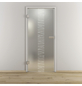 NOVADOORS Glasdrehtür »NOVA 549«, mattiert, Höhe: 197,2  cm-Thumbnail