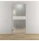 NOVADOORS Glasdrehtür »NOVA 593«, Anschlag: links, Höhe: 197,2 cm-Thumbnail