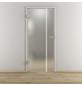 NOVADOORS Glasdrehtür »NOVA 598«, mattiert, Höhe: 197,2  cm-Thumbnail