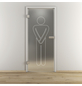 NOVADOORS Glasdrehtür »NOVA 627«, Anschlag: links, Höhe: 197,2 cm-Thumbnail