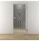 NOVADOORS Glasdrehtür »NOVA 627«, Anschlag: rechts, Höhe: 197,2 cm-Thumbnail