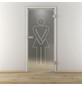 NOVADOORS Glasdrehtür »NOVA 628«, Anschlag: rechts, Höhe: 197,2 cm-Thumbnail