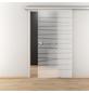 NOVADOORS Glasschiebetür »NOVA 514«, mattiert, Höhe: 205,8  cm-Thumbnail