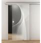 NOVADOORS Glasschiebetür »NOVA 634«, (BxH): 93,5 x : 205,8 cm-Thumbnail