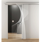 NOVADOORS Glasschiebetür »NOVA 634«, klar, Höhe: 205,8  cm-Thumbnail