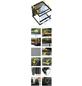 EXO TERRA Glasterrarium, 30 x 30 x 45 cm, inklusive Rückwand-Thumbnail