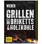 WEBER Grillbuch »Weber's Grillen mit Briketts & Holzkohle«, Taschenbuch-Thumbnail
