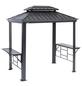 SOJAG Grillpavillon »Messina BBQ«, Doppeldach, rechteckig, BxT: 292 x 179 cm, inkl. Dacheindeckung-Thumbnail