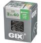 SPAX Grobgewindeschraube, 3,9 mm, Stahl, 125 Stk., GIX B 3,9x40 L-Thumbnail