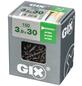 SPAX Grobgewindeschraube, 3,9 mm, Stahl, 150 Stk., GIX B 3,9x30 L-Thumbnail