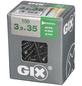 SPAX Grobgewindeschraube, 3,9 mm, Stahl, 150 Stk., GIX B 3,9x35 L-Thumbnail
