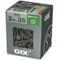SPAX Grobgewindeschraube, 3,9 mm, Stahl, 500 Stk., GIX B 3,9x35 XL-Thumbnail