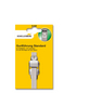 SCHELLENBERG Gurtführung, weiss/silberfarben, geeignet für: Gurtbänder mit einer Breite von 14 mm (System MINI)-Thumbnail