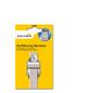 SCHELLENBERG Gurtführung, weiss/silberfarben, geeignet für: Rollladen-System MAXI-Thumbnail
