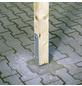 H-Pfostenanker, Stahl, BxL: 91 x 600 mm-Thumbnail