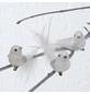 BOLTZE Hängefigur »Vogel mit Clip«, Federn, weiß-Thumbnail