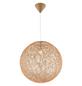 GLOBO LIGHTING Hängeleuchte »COROPUNA«, goldfarben, 60 W, E27, ohne Leuchtmittel-Thumbnail