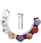 TOX Hakendübel, Polyethylen, 2 Stück, 8 x 80 mm-Thumbnail