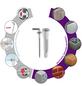 TOX Hakendübel, Polyethylen, 4 Stück, 12 x 41 mm-Thumbnail