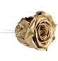 flowerbox Handgefertigte Christbaumschmuck-Rosen, Gold-Thumbnail
