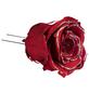 flowerbox Handgefertigte Christbaumschmuck-Rosen, Rot-Thumbnail