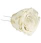flowerbox Handgefertigte Christbaumschmuck-Rosen, Weiß-Thumbnail