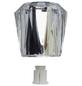 WELLWATER Handgriff, Kunststoff, transparent-Thumbnail