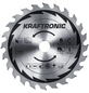 KRAFTRONIC Handkreissäge »KT-HK 1400«, 1400 W, 230 V, Durchmesser Sägeblatt: 190 mm-Thumbnail