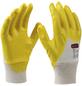 CONNEX Handschuh »Montage«, gelb, Nitrilbeschichtet-Thumbnail