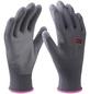 CONNEX Handschuh »Paint«, grau, PU-beschichtet-Thumbnail