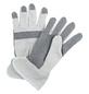 MR. GARDENER Handschuhe »Baumwolle grau/weiß«, weiss/grau-Thumbnail