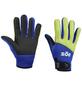 Handschuhe, Größe: M, gelb/blau-Thumbnail