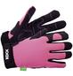 KIXX Handschuhe »Leder/Nylon«, rosa/schwarz-Thumbnail