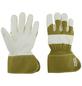 OX-ON Handschuhe »Supreme 7600«, weiss/gruen, Gummiummantelt-Thumbnail