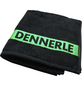 DENNERLE Handtuch, Mit Aufdruck, Baumwolle, Schwarz   Grün, LxB: 60 x 38 cm-Thumbnail