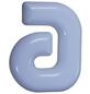 SÜDMETALL Hausnummer, a, Weiß, Kunststoff, 15,7 x 22,7 x 1,8 cm-Thumbnail