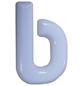SÜDMETALL Hausnummer, b, Weiß, Kunststoff, 15,7 x 22,7 x 1,8 cm-Thumbnail