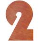 BELLISSA Hausnummer Nr. 2, braun-Thumbnail