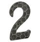 ANSAPRO Hausnummer Nr. 2, schwarz-Thumbnail