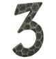 ANSAPRO Hausnummer Nr. 3, schwarz-Thumbnail