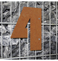 BELLISSA Hausnummer Nr. 4, braun-Thumbnail